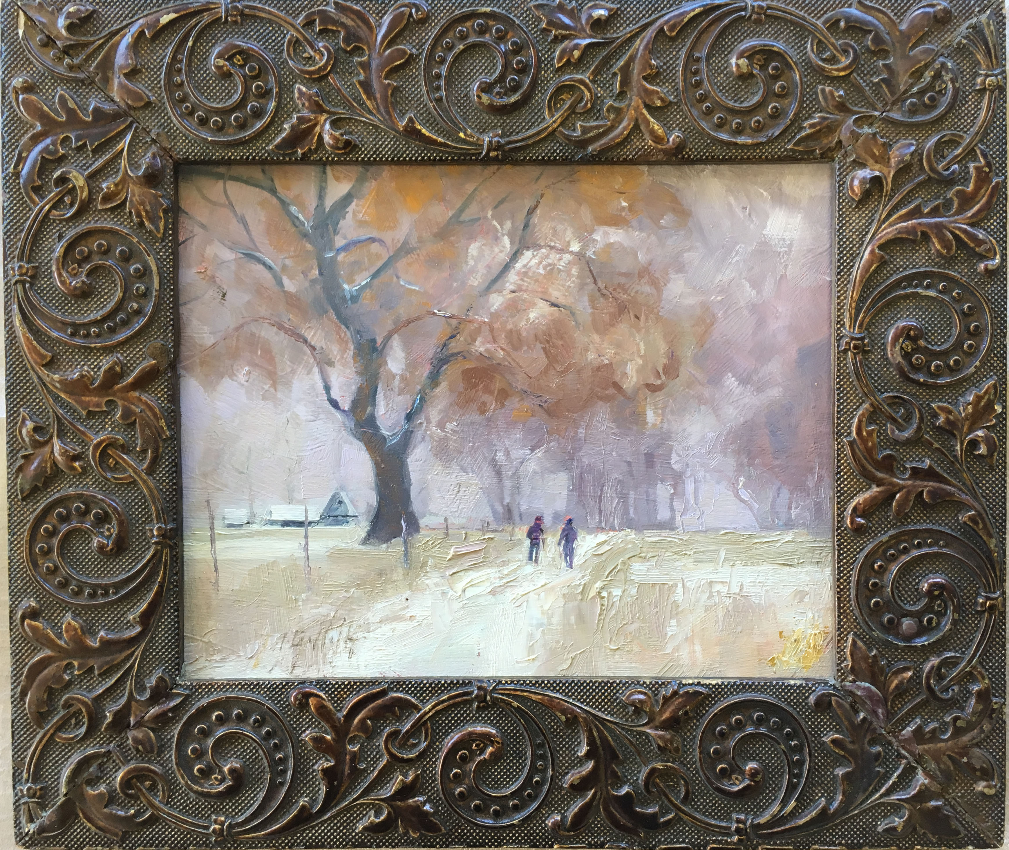 Morning Walk by Jineen Griffith, Retail $300