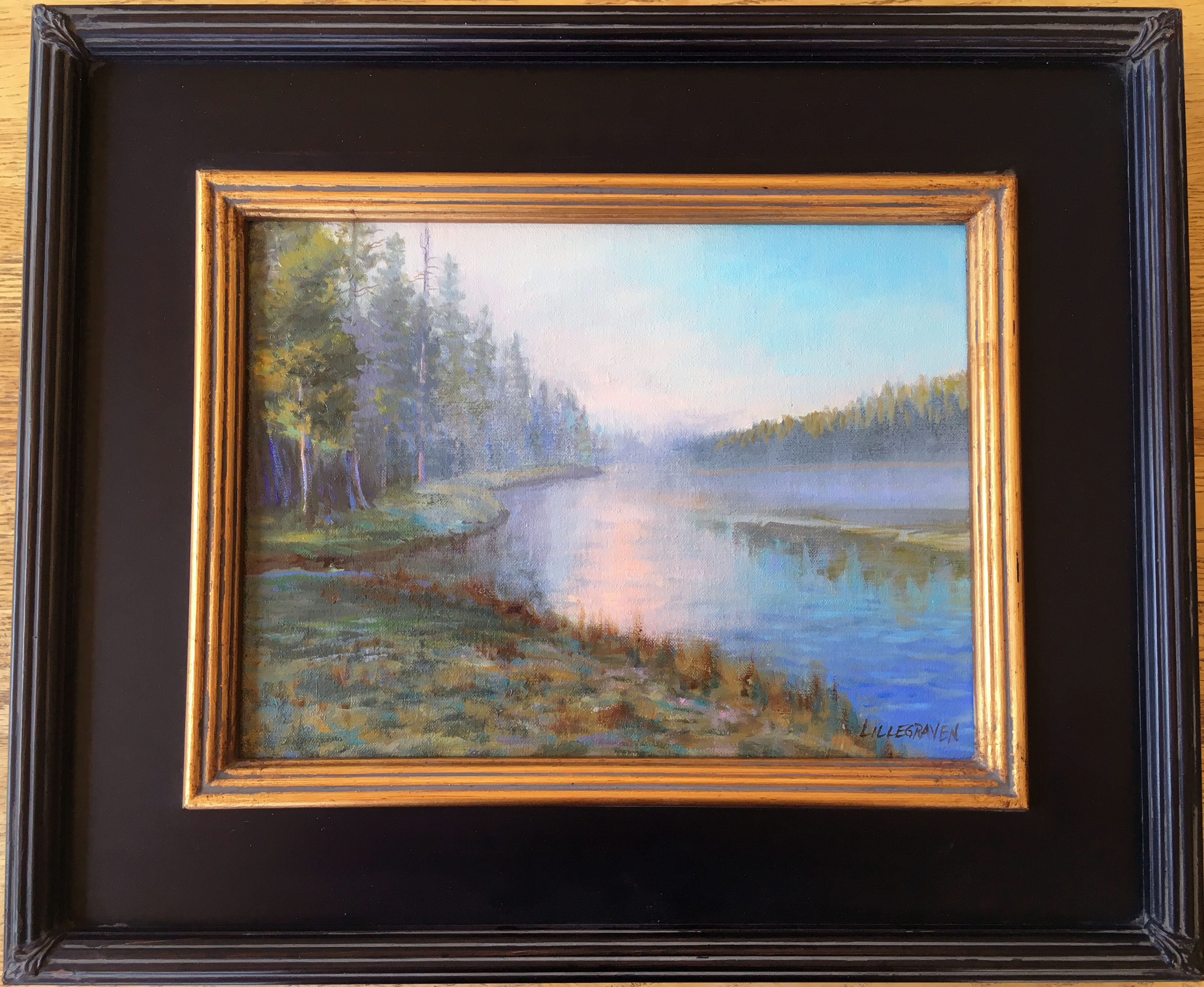 Study for Firehole River Dawn by Linda Lillegraven, Retail $900