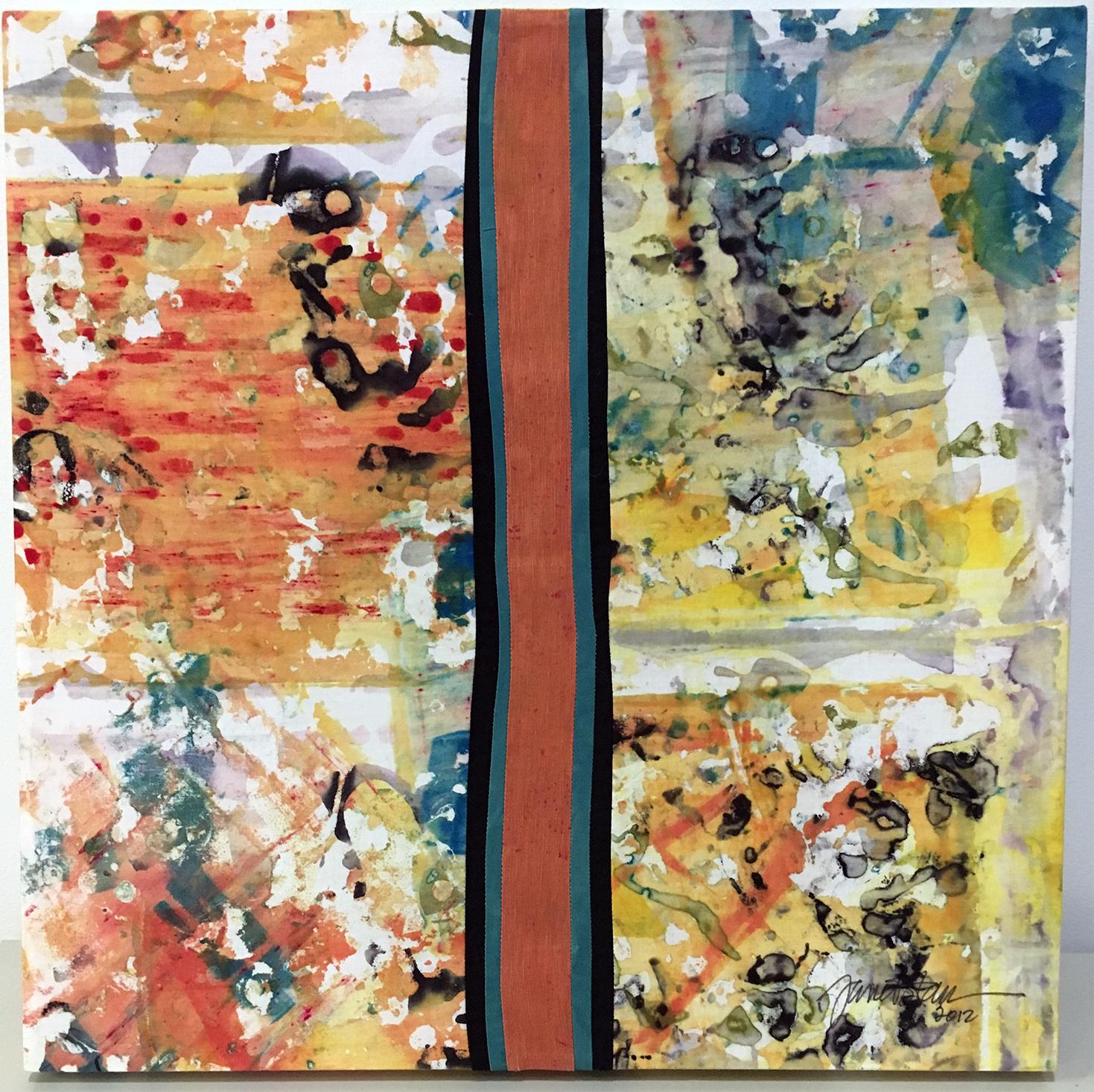 One Orange Stripe - Janet Starr